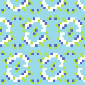 Kilim_-_aqua__blue_and_green