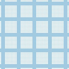 Grid of Grids - Light Blue