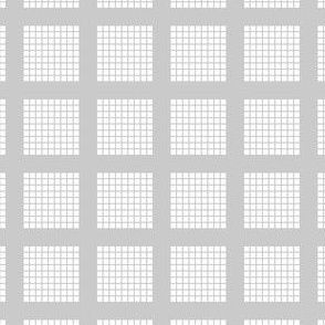 Grid of Grids - Gray