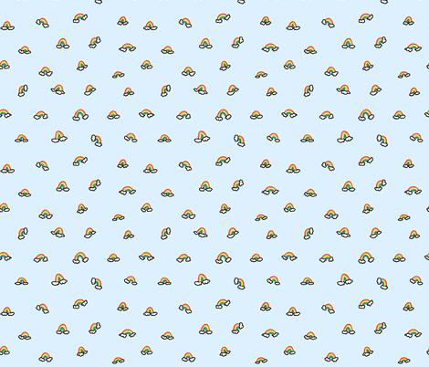 Rainbow Baby fabric by kelsieolds on Spoonflower - custom fabric