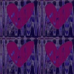 Heartbeat Hearts Upholstery Fabric