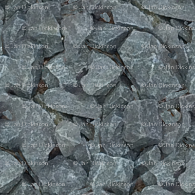 little dark rocks