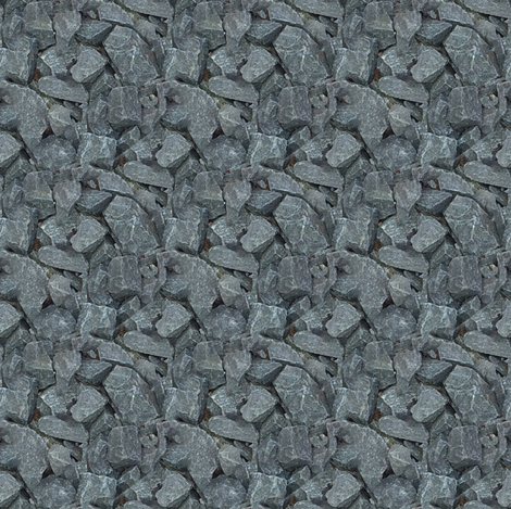 little dark rocks fabric by janbalaya on Spoonflower - custom fabric