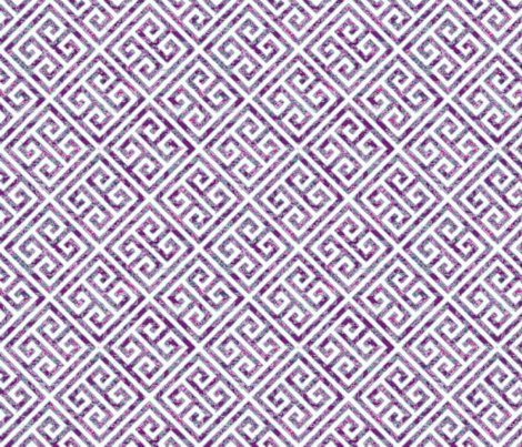Its all Greek to me! fabric by floramoon on Spoonflower - custom fabric
