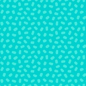 Brushstrokes in Turquoise