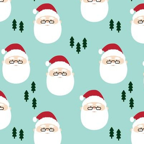 santa claus  || holiday fabric