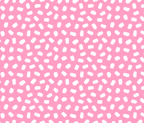 Candyfloss Brushstrokes fabric by thewellingtonboot on Spoonflower - custom fabric