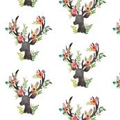 """7"""" Floral Deer"""