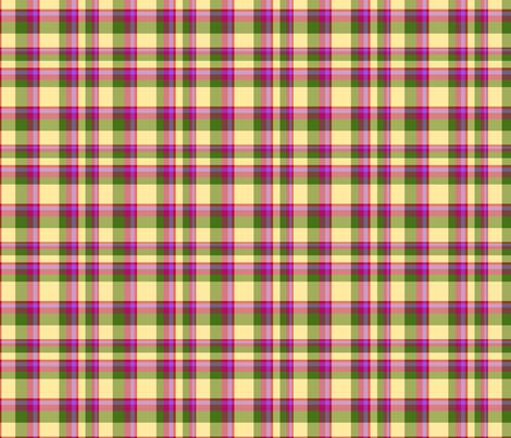 radish_radicchio_rutabaga_ivory_plaid_tea_towel fabric by leroyj on Spoonflower - custom fabric
