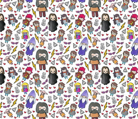 Friendship is Magic fabric by helloquirky on Spoonflower - custom fabric