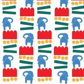 Retro Circus Elephant