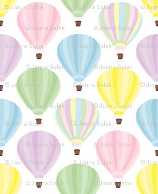 Pastel Hot Air Balloon
