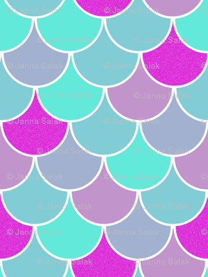 Scalloped Mermaid Scales