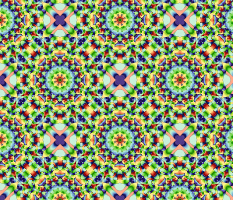 kaleidapattSpoon fabric by thistlethorn on Spoonflower - custom fabric