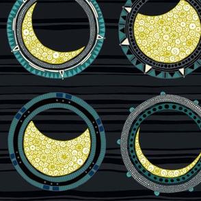 solar eclipse mandala