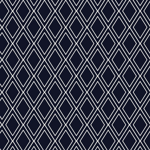 Rainforest Midnight Diamond Lattice