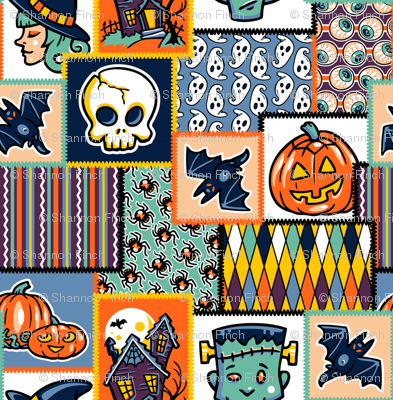 Halloween Hoopla - Patchwork - Small