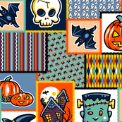 Halloween Hoopla - Patchwork - Large