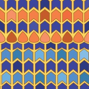 Egyptian Inlay - Chevrons