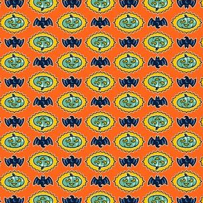 Halloween Hoopla - Pumpkin Medallion - Orange