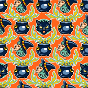 Halloween Hoopla - Witches Brew - Orange