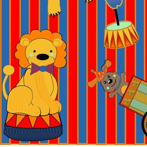 Big_Top_Circus_animals_red