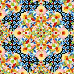 Elizabethan Pastel Mandala