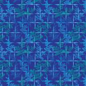 Blue Flowering