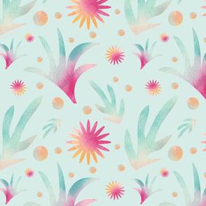 Aquarel_Leafes_mint