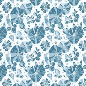 Floramoon Blue Hues Palette