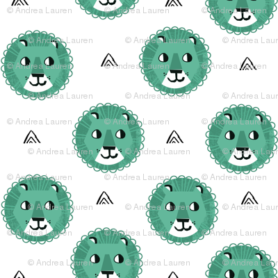 Lion fabric nursery baby lion design safari baby andrea for Safari fabric for nursery