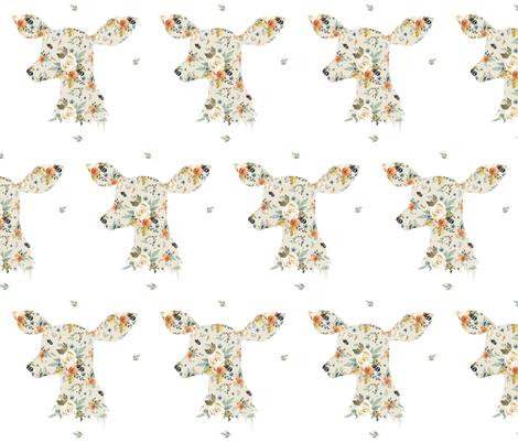 "6"" Western Autumn Deer fabric by shopcabin on Spoonflower - custom fabric"