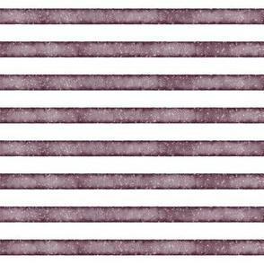 salted watercolor stripes // plum