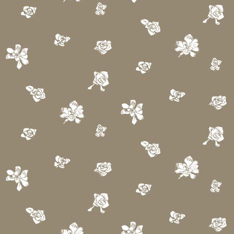 Capo Blanco - Gold fabric by crumpetsandcrabsticks on Spoonflower - custom fabric