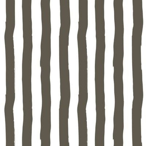 "8"" Western Autumn /  Taupe Stripes / Vertical"