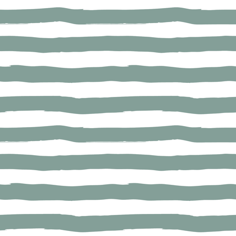 "8"" Western Autumn /  Dry Green Stripes  fabric by shopcabin on Spoonflower - custom fabric"