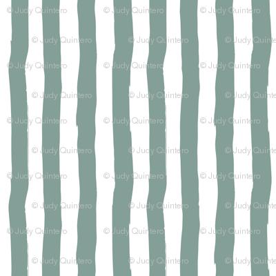 "8"" Western Autumn /  Dry Green Stripes / Vertical"