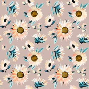 Indy Bloom Design Peachy Sunflower A