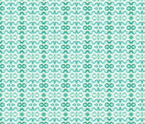 GREEN OCEAN  fabric by gigimiami on Spoonflower - custom fabric