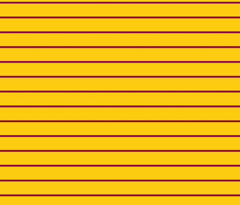 Gold and Maroon Stripe fabric by youmeandourbees on Spoonflower - custom fabric