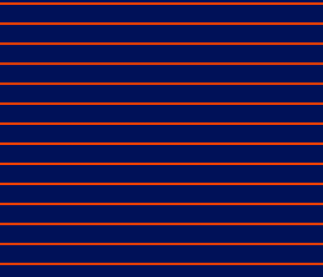 Blue and Orange Stripes fabric by youmeandourbees on Spoonflower - custom fabric