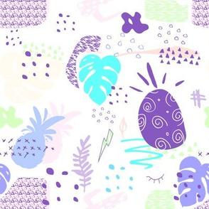 "8"" Tropical Mod Purple"