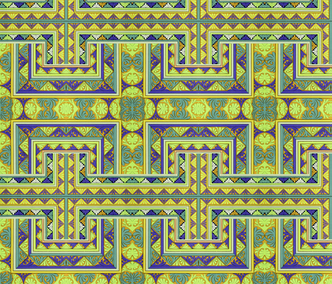 byzantine 96 fabric by hypersphere on Spoonflower - custom fabric