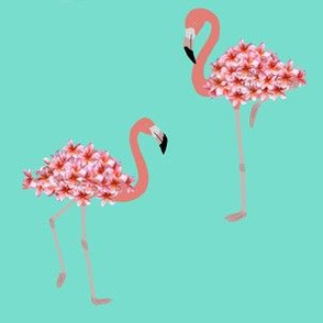Sandy the Flamingo