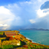 Approaching Storm, on the West Coast of Ireland, County Kerry
