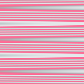 Almost Stripes Coral Pink Upholstery Fabric