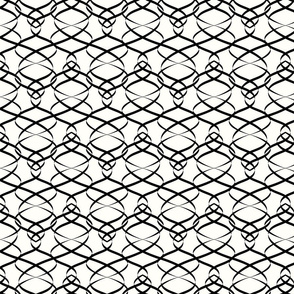 stylish wavy pattern