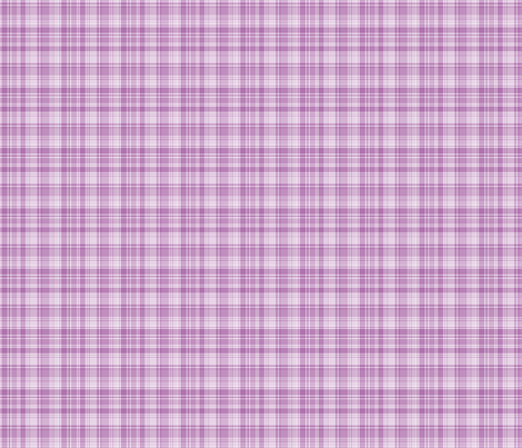 happy plaid no.14 XSM fabric by misstiina on Spoonflower - custom fabric