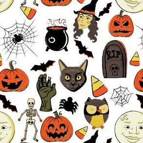 "6"" Vintage Halloween"