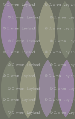 Mod leaves-orchid taupe